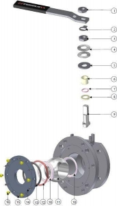 China Ball Valves Airline ATCO 3''-2'' DN50 FULL BORE on sale