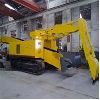 Roadheading machine for mining