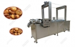 Factory Price Continuous Broad Beans Frying Machine|Nut Fryer Equipment Manufacturer