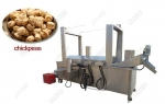 Commercial Continuous Chickpeas Frying Machine For Sale