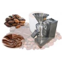 Nut Butter Cocoa Butter Making Machine With Colloid Mill|Cocoa Beans Butter Maker