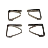 Stainless Steel Table Cloth Clamp Clips - Set of 4-Tablecloths