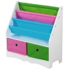 China Basics Book Holder with 2 Bins-Bookcases,Cabinets & Shelves for sale