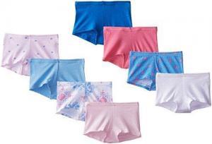 China Hanes Big Girls' Girls Boyshort (pack of 8)-Panties on sale