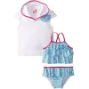 China Solo Worldwide,Inc Baby Girls' Ziggy Zaggy Swimsuit-Cover-Up Sets for sale