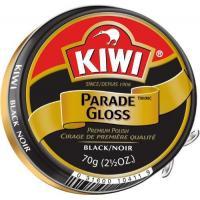 Kiwi Large Parade Gloss Black Shoe Polish (2.5 OZ.) (104-011)-Military