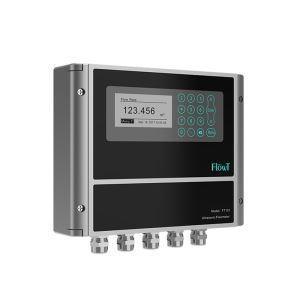 China Strap on Water Ultrasonic Flow Meter High Accuracy for Building Automation HVAC on sale