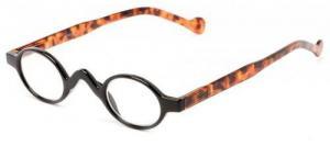 China Women's Reading Glasses Harper Small Oval Retro Reading Glasses Black/Tortoise on sale