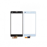 Cell Phone Parts Front Outer Panel Glass Lens Replacement for Sony Z3 Compact Touch Screen
