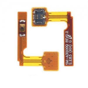 China Promixity Sensor Earphone Jack Home Button Replacement Flex Cable for Samsung Galaxy A3 2017 on sale