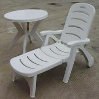 China BEACH CHAIR AND TABLE Cheap Plastic Lounge Chair on sale