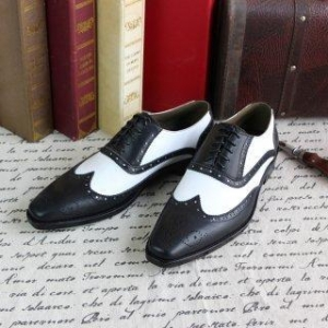 China skp146 Custom Made Italy Goodyear Handmade Flat Shoes on sale