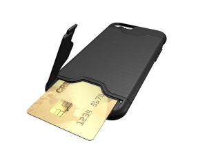China IPhone CASE TPU+PC Card Slots cell pho on sale
