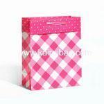 China Violet Print Baby Girl Gift Bag on sale