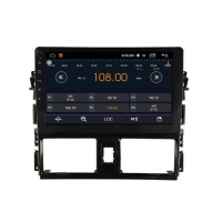 10.2 Inch HD Android Car DVD Player for TOYOTA Vioswith Bluetooth GPS Model: AD-F2018