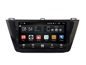 China 10.2 Inch HD Android Car DVD Player for VW Tiguan with Bluetooth GPS Model: AD-F2082 on sale