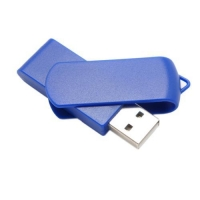 Promotional Plastic USB Flash Memory/Swivel USB Drive Model: # 5390
