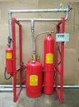 External Pressure Storage Heptafluoropropane Gas Extinguishing System