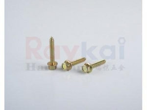 China Hex Washer Head Wood Screws on sale