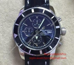 China Japan Grade Replica Breitling Superocean Heritage Chronograph Watch Mesh Band on sale