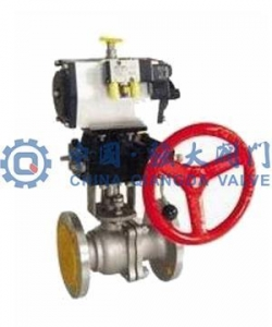 China O type pneumatic shut-off valve | pneumatic shut-off valve on sale