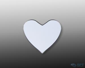 China Sublimation blanks(NEW) Sublimation Metal Fridge Magnet,Heart on sale