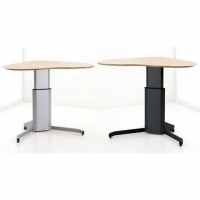 ConSet 501-7 Single-Column Sit-Stand Electric Height Adjustable Desk