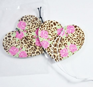 China Auto Die Cut Perfume Hanging Card on sale