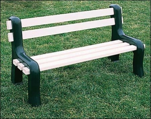 China Vinyl Park Bench on sale