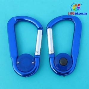 China 8cm aluminum carabiner torch (CC9015) on sale