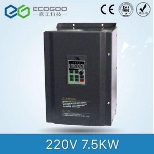 China 220V 7.5kw Low Power Frequency Solar Inverter on sale