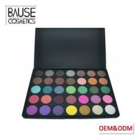 OEM private label naked makeup cosmetics matte eye shadow 35 col makeup eyeshadow palette
