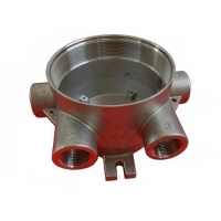 Custom-made parts SS cover for measuring instrument