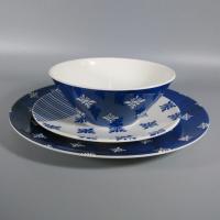 Certified International Outdoor Leisure Collection Melamine Tableware Dinner Set