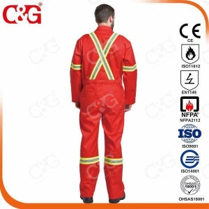 China Nomex IIIA Flame Resistant Clothing FR cotton working safety clothing on sale