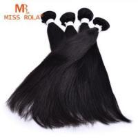 High Quality 10A 100% human virgin indian woman long hair sex unprocessed straight hair bundles