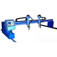 High mast pole CNC cutting machine