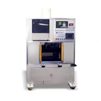 The battery size measuring machine