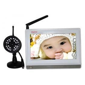 China 7-inch digital wireless baby monitor on sale