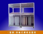 Automation equipment (double) wheel steel box placed rack
