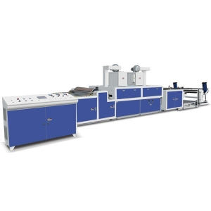 China MJ-SFJ Water solubility rolling paper laminating Machine on sale