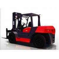 Counter balanced forklift truck