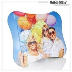 China Sublimation Puzzles jigsaw puzzle games board small bones shape Item No.: SJP-38 on sale