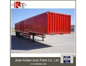 China High Quality Dry Van Semi-trailer on sale