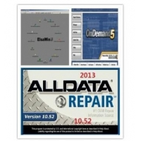 2014 Auto Repair Software Alldata 10.53+Mitchell on demand 2013+BOSCH 2013+ELSA 4.0+Vivid etc 21 in1