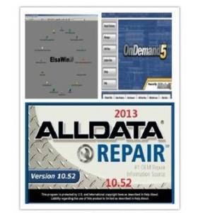 China 2014 Auto Repair Software Alldata 10.53+Mitchell on demand 2013+BOSCH 2013+ELSA 4.0+Vivid etc 21 in1 on sale