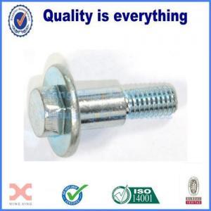 China Hex washer bolt iron metric machine threaded on sale