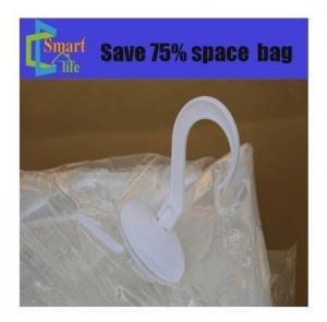 China China supplier OEM plastic pa pe nylon vac space saver storage bag vacuum hanging bags on sale