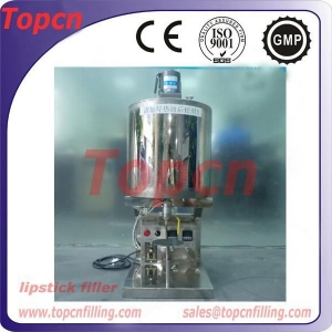 China Semi Automatic Lipstick Filling Machine on sale