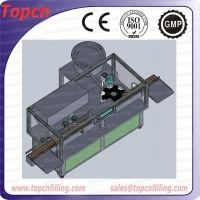 Rotary syrup filling machine bottle filler